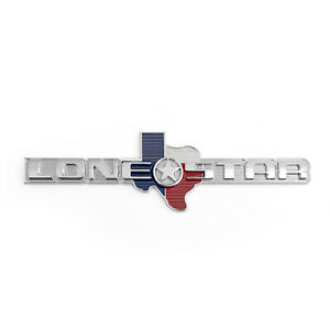 3d Metal Lone Star Texas Edition For Ram 1500 2500 Emblem Badge Sticker Chr At1