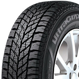 2 New 225 65 17 Goodyear Ultra Grip Winter Winter Studdable Tires 2256517