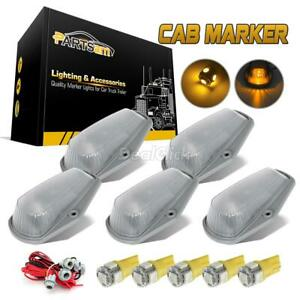 5 Cab Clearance Marker Light 15442 Clear Assembly t10 Harness 194 5050 Led Amber