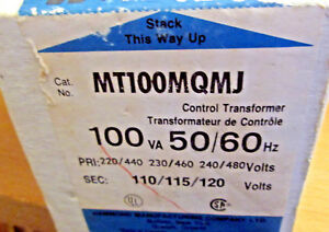Never Used In The Box Hammond Control Transformer Model Mt100mqmj