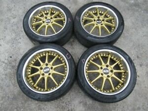 Fit For Jdm Blitz Racing Rims Wheel Mr2 Supra 17x8j 40 17x9j 45 5x114 3