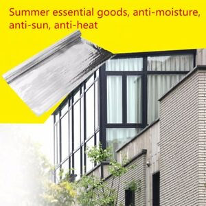 4 x164 Radiant Barrier Solar Attic Foil Reflective Insulation Perforated