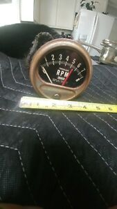 Vintage Dixco Tach Tachometer Rat Rod 0 8k Model 97 street Rod hot Rod custom
