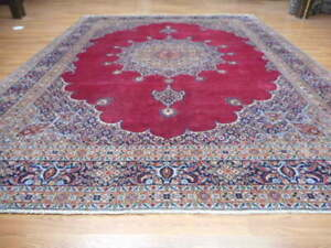 C1940 Vg Dy Antique Moud Mouud Herati Bijar Bijdar 8 6x11 6 Estate Sale Rug