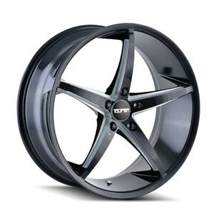 4 New 18x8 Touren Tr70 Black Milled Wheel Rim 5x112 3270 8845b35