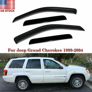 For Jeep Grand Cherokee 1999 2000 2001 2002 2003 2004 Window Visor Rain Sheild