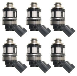 Set Of 6 Standard Fuel Injectors For Nissan Frontier Xterra 3 3l V6 Supercharged