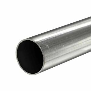 409 Stainless Steel Round Tube 2 Od X 0 075 Wall X 72 Long