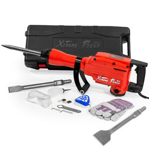 Xtremepowerus Heavy duty Electric Demolition Jack Hammer With Scraping Chisel