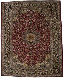Traditional Design Handmade 10x12 Najafabad Persian Rug Oriental Area Carpet