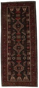 Captivating Tribal Balouch Runner Vintage Persian Rug Oriental Area Carpet 4x9