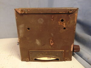 Early Detrola Automobile Car Radio Coupe Sedan 1931 1932 1933 Ford Chevy Dodge