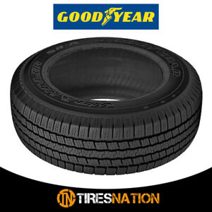 1 New Goodyear Wrangler Sr a P255 70r16 109s Owl Quiet All Season Tires