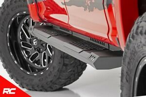 Rough Country Hd2 Running Boards Fits 2007 2019 Toyota Tundra Crewmax Side Steps