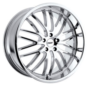 1 New 19x9 5 Tsw Snetterton Chrome Wheel Rim 5x120 5 120 19 9 5 Et45