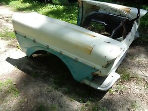1958 58 Ford Front Clip Hood Fenders Radiator Support