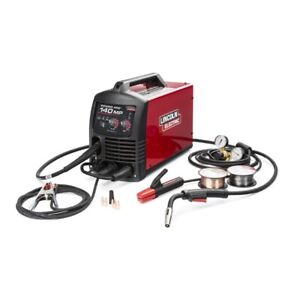 Lincoln Power Mig 140 Mp Multi Process Welder k4498 1