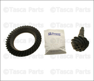 New Genuine Oem Rear Differential Ring Pinion Gear Kit 2009 2010 Dodge Ram 1500