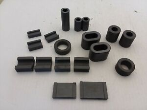 Laird signal 18 Pieces Of Assorted Size Ferrite Core Solid Nnb