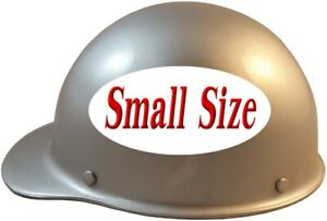 Msa Skullgard small Shell Cap Style Hard Hat With Ratchet Suspension Silver