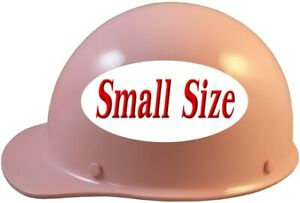 Msa Skullgard small Shell Cap Style Hard Hat Ratchet Suspension Light Pink