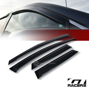 For 2007 2012 Mazda Cx 7 Sun Rain Guard Smoke Vent Shade Deflector Window Visors