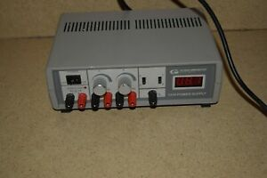 Global Specialties Instruments 1310 Dual Power Supply