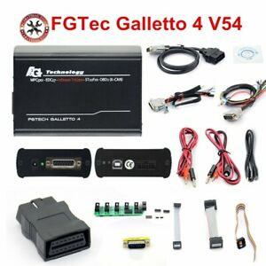 New V54 Fg Tech Galletto 4 Master Bdm Tricore Obd Ecu Programmer Latest Fgtech