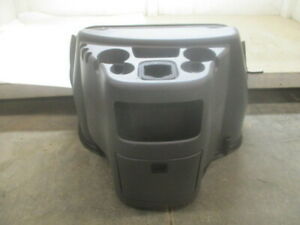 2003 2014 Ford E350 E250 Front Floor Console W Cup Holders Storage Oem Lkq