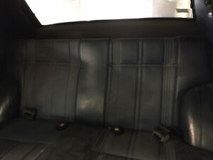 1978 Datsun B210 Rear Bench Seat