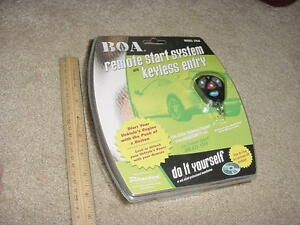 Boa Remote Start System With Keyless Entry New
