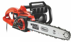 chainsaw B&D tree pruner GKC 1940TX saw electric 1900 W and bar 15 1116in