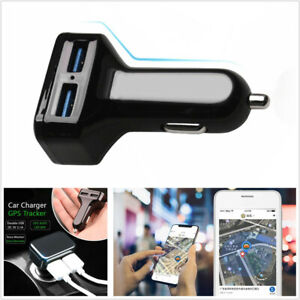 Automobiles Dual Usb Faster Charger Gps Tracker Wifi Real Time Tracking Location