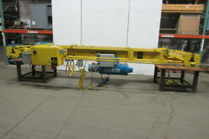 6 Ton 18 Power Bridge Crane Bottom Runner W shawbox Wire Rope Power Trolley