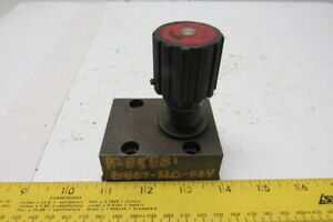 Hycon Dvp12 1 1 0v Metered Hydraulic Flow Control Needle Valve 350bar
