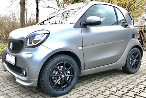 Winter Wheels Black Smart Fortwo 453 Msw X4 By Oz Alloy Rims Winter Tyres Kumho
