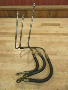 Used Part Vintage 1967 Oliver 1650 Gas Farm Tractor Power Steering Lines
