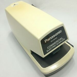 Vintage Panasonic Commercial Electric Stapler As 300nn Made In Japan Tested