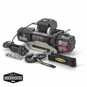 Smittybilt 98512 Gen2 X20 Wireless Winch 12k Black Jeep Truck 4x4 Suv Off Road