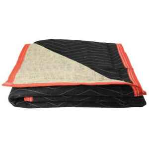 Moving Blankets Burlap Moving Pads 12 pack