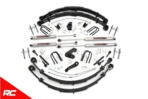 Rough Country 6 Lift Kit Fits 1987 1995 Jeep Wrangler Yj 4wd Suspension Lift