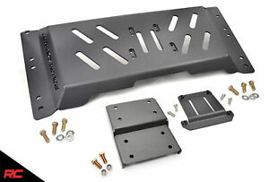 Rough Country Skid Plate Armor Extra Clearance Fits 1997 2002 Jeep Wrangler Tj