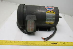 Baldor M3559 3hp 3450rpm 208 230 460v 3ph Electric Motor 56 56h Frame 3450rpm