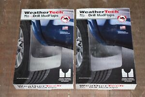 Weathertech No drill Mudflaps For Ford Escape 2013 2019 Full Set