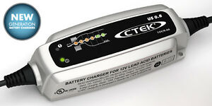 Ctek Us 800 12 Volt Motorcycle Atv Utc Battery Charger maintainer trickle
