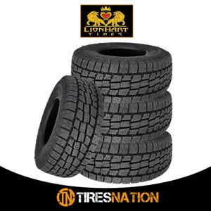 4 New Lionhart Lionclaw Atx2 255 70r15 108s All Season Performance Tires