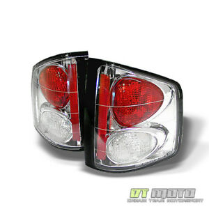 94 04 Chevy S10 Gmc Sonoma Clear Altezza Tail Lights Lamps Left right Sets Pair
