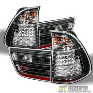 Black 2000 2006 Bmw X5 E53 Lumileds Led Tail Lights Signal Lamps Pair Left Right