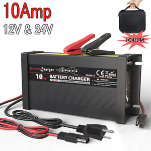 Leicestercn Lst Truck Battery Charger Maintainer Auto Trickle Deep Cycle For Car