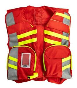 Red G3 Ansi Advanced Ems Safety Vest Statpacks